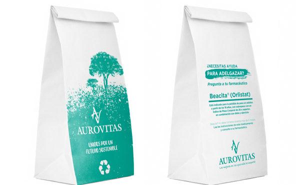 Aurovitas sostenible con medio ambiente RD 2937/2018 reducción de bolsas de plástico